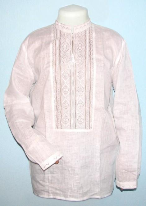 вишиванка біла по білому